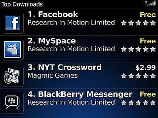 RIM Announces BlackBerry's App World