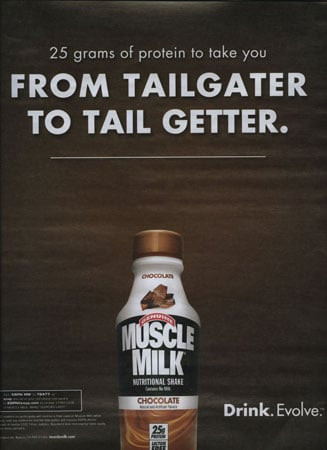 Muscle Milk, the Drink Douchebags Reach For First!