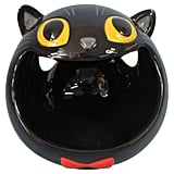Hyde and Eek! Boutique Halloween Ceramic Black Cat Candy Bowl