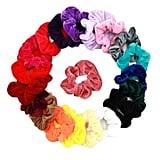 20 Pcs Velvet Hair Scrunchies