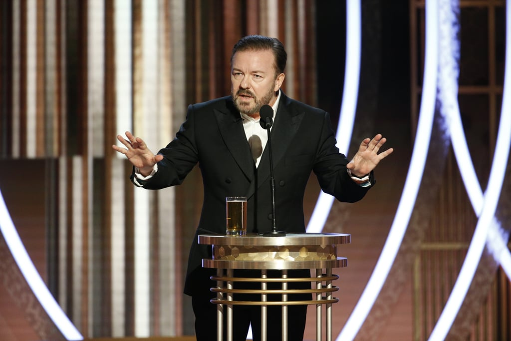 Celebrity Reactions to Ricky Gervais's Golden Globes Speech