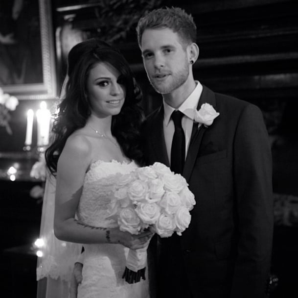 British singer Cher Lloyd got secretly married to Craig Monk in 2013 and gave fans a look at the big day on Instagram.  Source: Instagram user cherlloyd