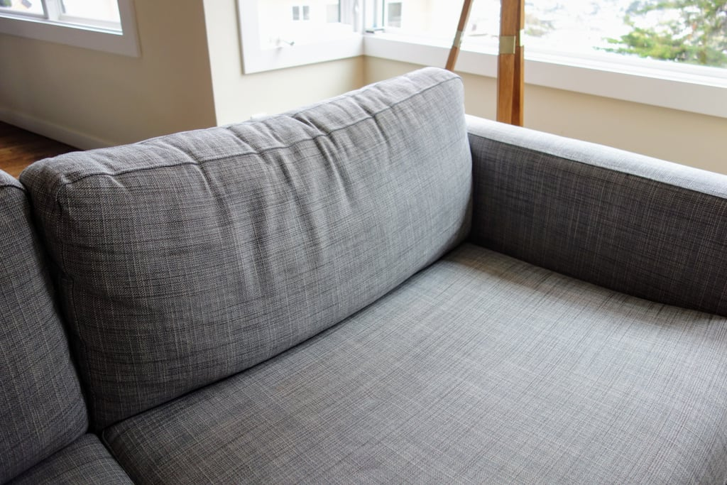 After three years, my Ikea couch looked a bit tired. The covers had faded and the cushions were slouching. The profile fit my living room well, so I didn't want to start from scratch.
