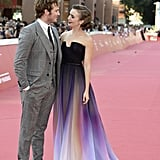 Sam Claflin Couldn't Take His Eyes Off of Her