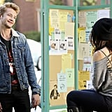 A new man (played by Nick Roux) emerges in Rosewood. Source: ABC Family