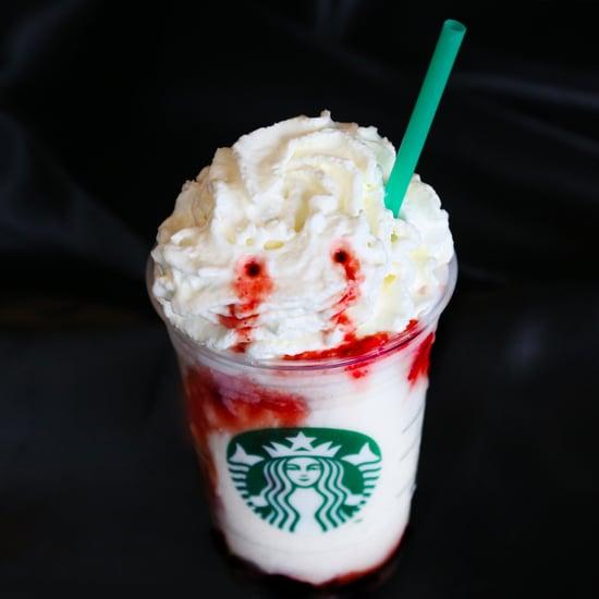 Starbucks Halloween Frappuccino 2016