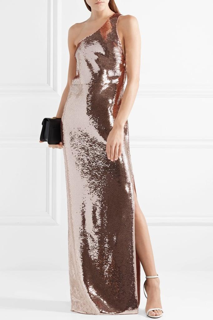 Becca\'s Exact Tom Ford Dress   Becca Kufrin Sequin Dress in ...