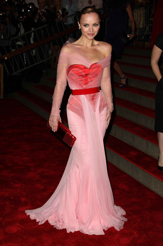 Christina Ricci at the 2008 Met Gala