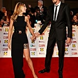 Abbey Clancy and Peter Crouch