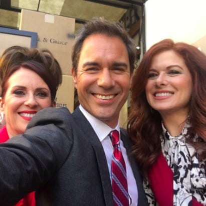 Will and Grace Revival Set Photo March 2017