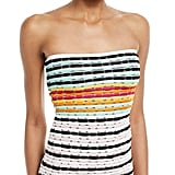 Missoni Mare Strapless Striped Knit Swim Top