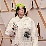 بيلي إيليش في حفل توزيع جوائز الأوسكار 2020