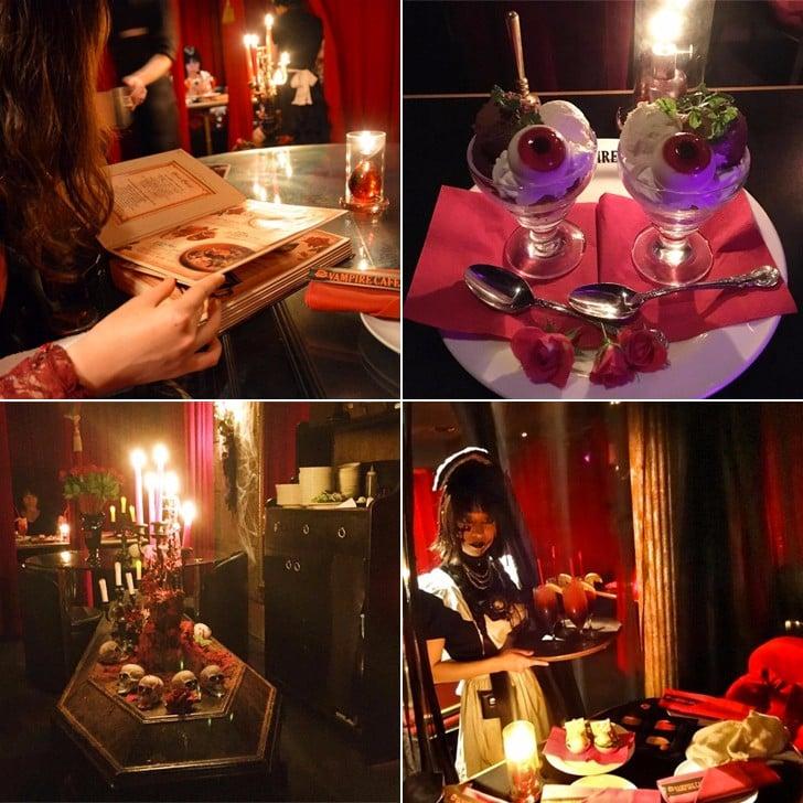 Vampire Cafe in Japan