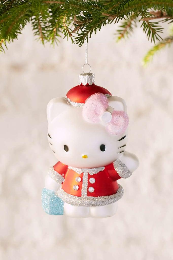 Hello Kitty Santa Ornament  ($14)