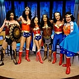 Kelly and Ryan as Wonder Woman
