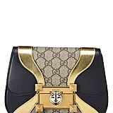Gucci Black & Gold Leather Supreme Canvas Osiride