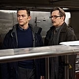 Joseph Gordon-Levitt and Gary Oldman in The Dark Knight Rises.