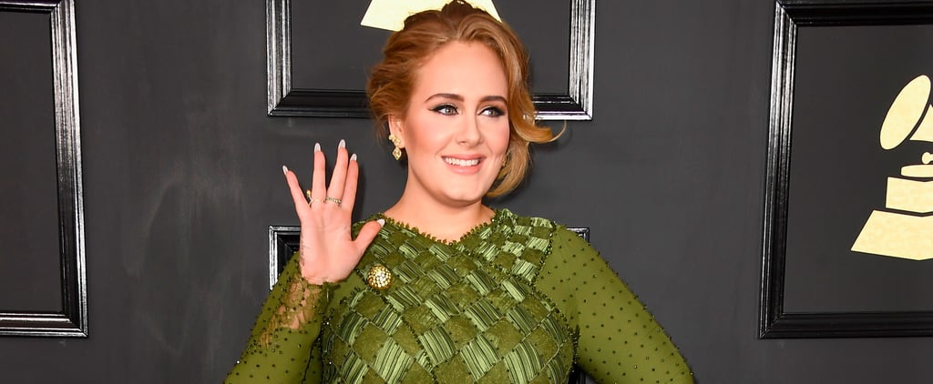 """Adele's Gorgeous Green Givenchy Gown Will Make You Sit Up and Say """"Hello!"""""""
