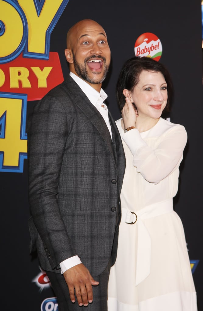 Keegan-Michael Key and Elisa Pugliese at the Toy Story 4 Premiere