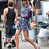 Taylor's Purple Pumps