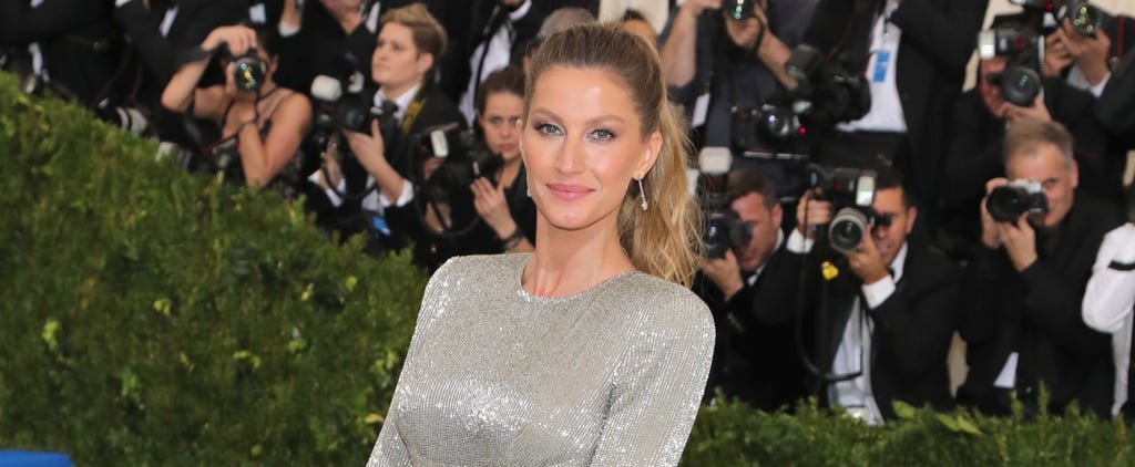 Gisele Bundchen Stella McCartney Dress Met Gala 2017