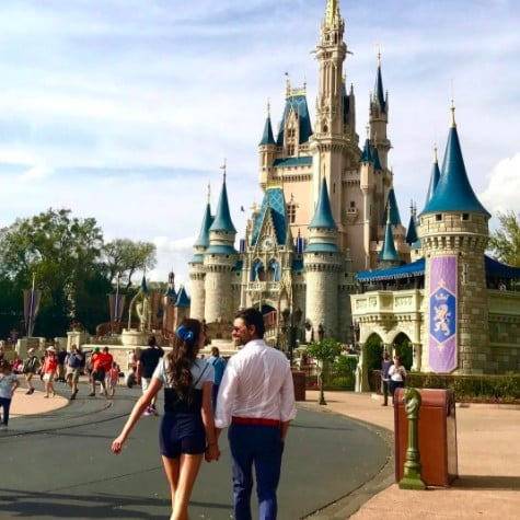 John Stamos Photo With Girlfriend at Disney World March 2017