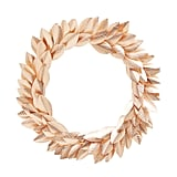 Foiling Star Rose Gold Wreath, $88
