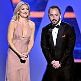 Nov. 8: She hit the stage during the Breakthrough Prize Ceremony in Northern CA.
