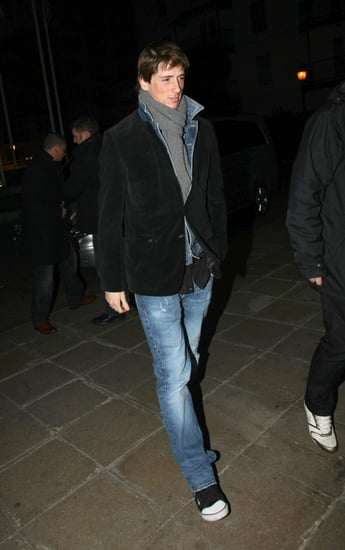 Pictures of Fernando Torres in London After Transferring From Liverpool to Chelsea For £50million