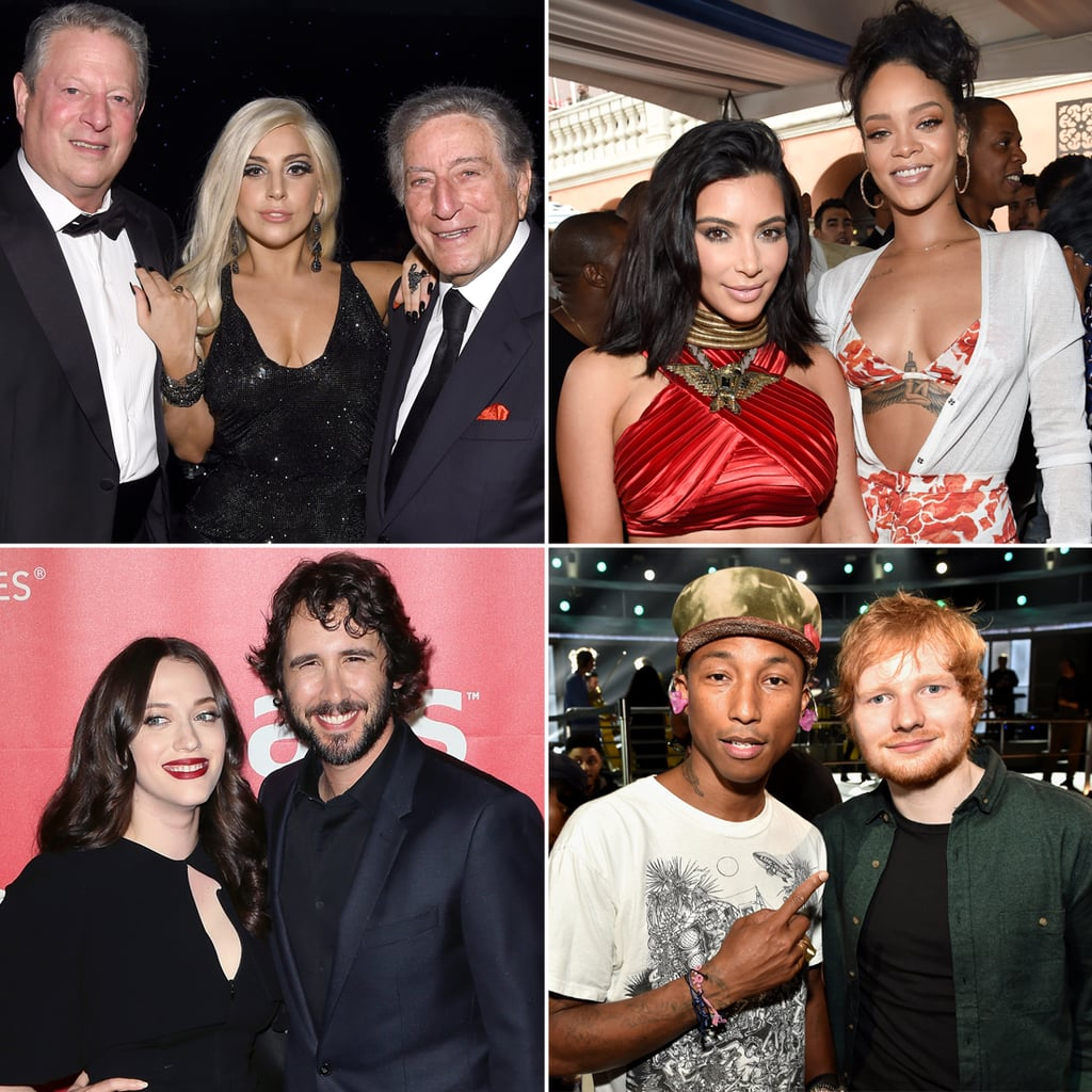 Celebrities at Pre-Grammy Awards Parties 2015   Pictures