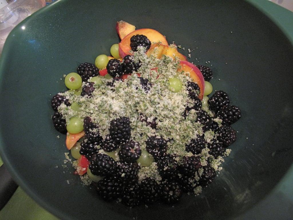 Summer Fruit Salad With Mint Sugar