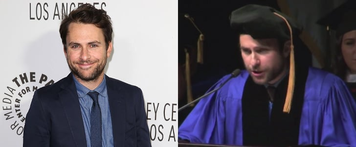 Charlie Day's Commencement Speech at Merrimack College