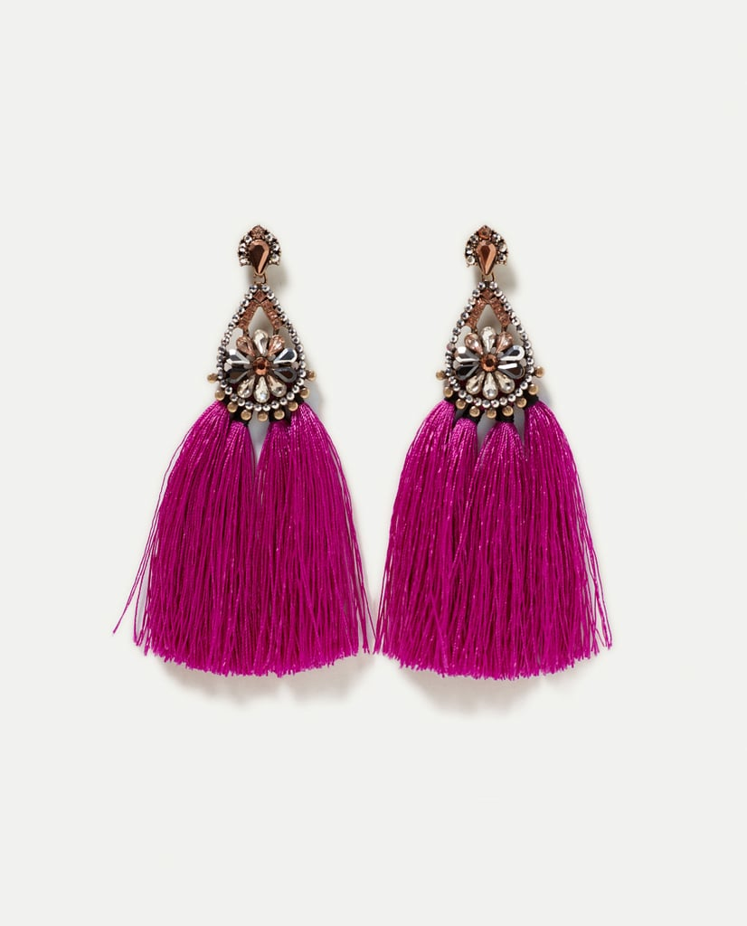 Add these Zara fuchsia earrings ($20) to almost anything — even your basic white tee and jeans — and feel instantly dressed up.