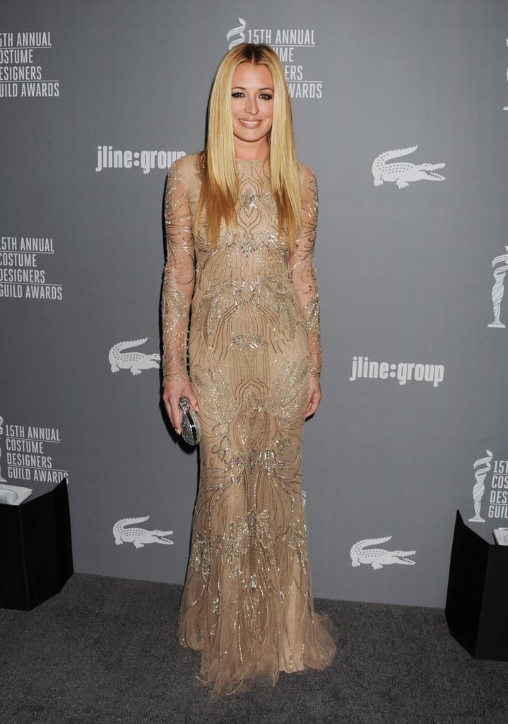 Cat Deeley attended the event.
