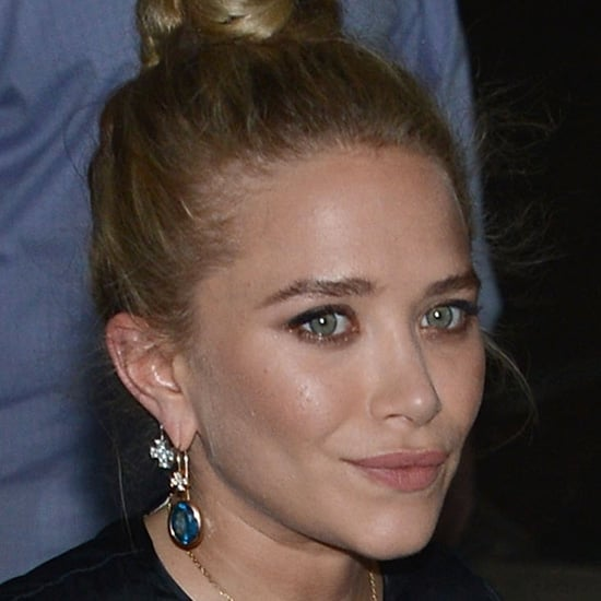 While Ashley left her ears bare, Mary-Kate opted to dress hers up with teardrop dangle earrings. Wear these Anthropologie drop earrings ($78) to fancy up your earlobes just like Mary-Kate did.