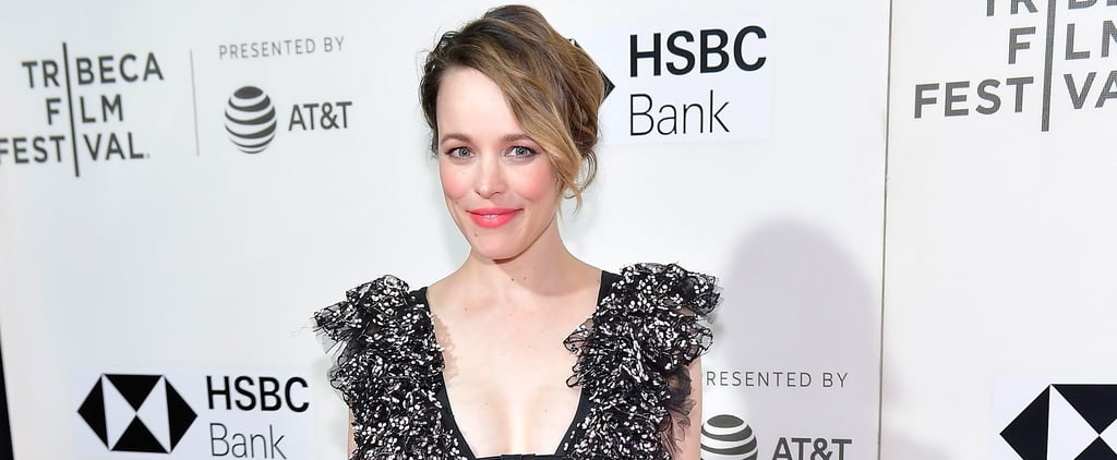 Rachel McAdams Sheer Giambattista Valli Dress 2018