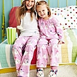Garnet Hill Snowman Sleep Pants and Shirt