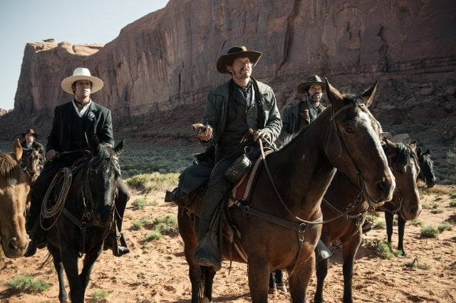 James Badge Dale and Armie Hammer in The Lone Ranger.