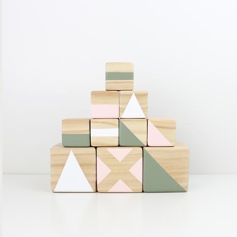 Personalised stacking blocks