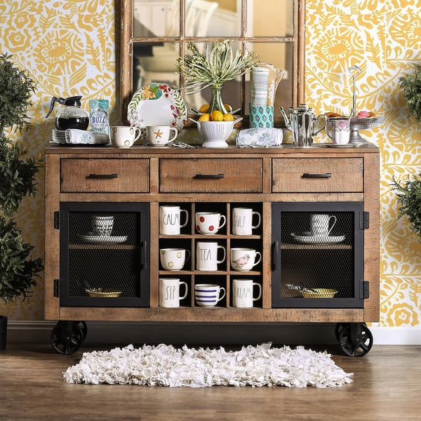 32 Dining Room Storage Ideas: 16 Rustic Storage Options Every Joanna