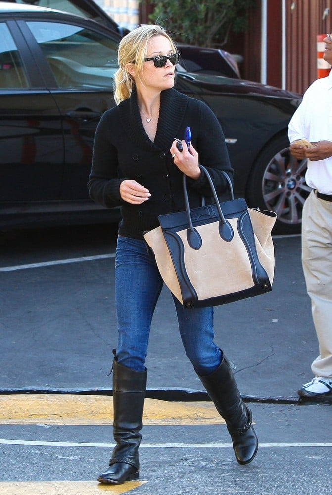 19f64d0959 Celebrities Carrying Celine Luggage Tote (Pictures)