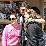 Ed Westwick Sweetly Poses With Two Adoring Gossip Girl Fans