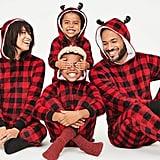 Matching Family Christmas Buffalo Union Suit Pajamas