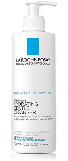 Best Face Wash For Dry Skin: La Roche-Posay Toleriane Hydrating Gentle Cleanser