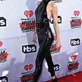 Taylor Swift's Peep-Toe Ankle Booties