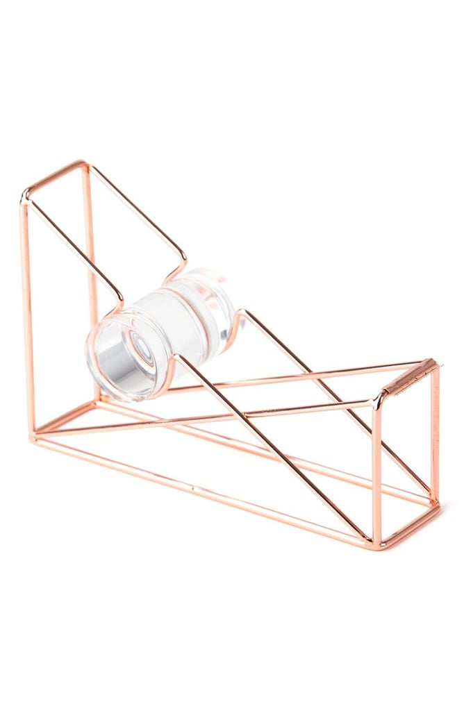U BRANDS Rose Goldtone Tape Dispenser ($12)