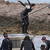 Jennifer Lawrence filmed Catching Fire in Hawaii.