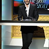 Marc Jacobs took the podium at the 2011 Glamour Women of the Year Awards.