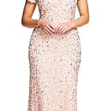 Sparkle from head to toe in this Adrianna Papell Scoop Back Sequin Gown ($310).