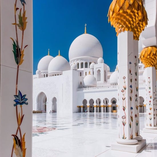 Sheikh Zayed Grand Mosque Is World's 2nd Favorite Landmark
